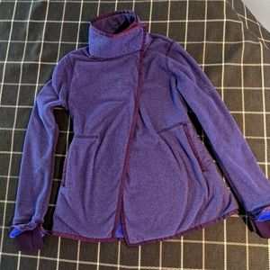"""Ivivva youth 14 sweatshirt lined with soft """"fur"""""""
